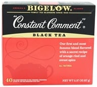 Bigelow Tea - Black Tea Constant Comment - 40 Tea Bags (072310001039)