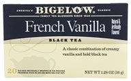 Bigelow Tea - Black Tea French Vanilla - 20 Tea Bags (072310001657)