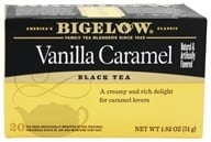 Bigelow Tea - Black Tea Vanilla Caramel - 20 Tea Bags (072310001695)
