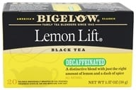 Image of Bigelow Tea - Black Tea Decaffeinated Lemon Lift - 20 Tea Bags