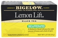 Bigelow Tea - Black Tea Decaffeinated Lemon Lift - 20 Tea Bags by Bigelow Tea