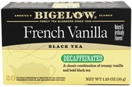 Bigelow Tea - Black Tea Decaffeinated French Vanilla - 20 Tea Bags (072310042650)