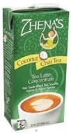 Zhena's Gypsy Tea - Chai Tea Latte Coconut Concentrate - 32 oz. (652790800065)