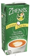 Zhena's Gypsy Tea - Chai Tea Latte Coconut Concentrate - 32 oz. by Zhena's Gypsy Tea