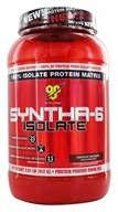 BSN - Syntha-6 100% Isolate Protein Matrix Chocolate Milkshake - 2.01 lbs. by BSN
