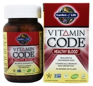 Garden of Life - Vitamin Code Healthy Blood - 60 Vegetarian Capsules by Garden of Life