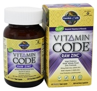 Garden of Life - Vitamin Code Raw Zinc - 60 Vegetarian Capsules, from category: Vitamins & Minerals