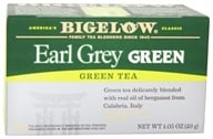 Image of Bigelow Tea - Green Tea Earl Grey - 20 Tea Bags