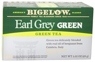 Bigelow Tea - Green Tea Earl Grey - 20 Tea Bags (072310008236)