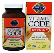 Garden of Life - Vitamin Code Raw Vitamin C - 120 Vegetarian Capsules, from category: Vitamins & Minerals