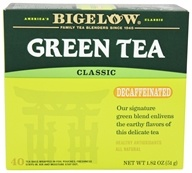 Bigelow Tea - Green Tea Decaffeinated - 40 Tea Bags (072310032484)