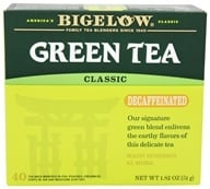 Bigelow Tea - Green Tea Decaffeinated - 40 Tea Bags - $4.74