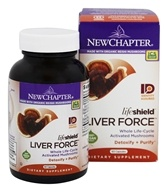 New Chapter - LifeShield Liver Force - 60 Vegetarian Capsules (727783002396)