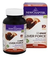 Image of New Chapter - LifeShield Liver Force - 60 Vegetarian Capsules