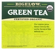 Image of Bigelow Tea - Green Tea Certified Organic - 40 Tea Bags