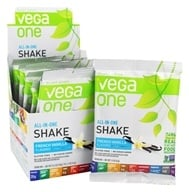 Vega - All-in-One Nutritional Shake French Vanilla - 10 Pack(s)