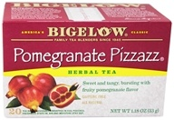Bigelow Tea - Herb Tea Pomegranate Pizzazz - 20 Tea Bags (072310010130)