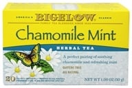Bigelow Tea - Herb Tea Chamomile Mint - 20 Tea Bags (072310010680)