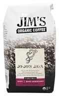 Image of Jim's Organic Coffee - Whole Bean Coffee Jo-Jo's Java - 12 oz.