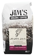 Jim's Organic Coffee - Whole Bean Coffee Jo-Jo's Java - 12 oz.