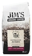 Image of Jim's Organic Coffee - Whole Bean Coffee Espresso Jimbo - 12 oz.