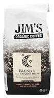 Jim's Organic Coffee - Whole Bean Coffee Blend X aka Witches Brew - 12 oz.