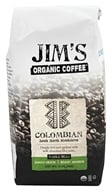 Jim's Organic Coffee - Whole Bean Coffee Colombia - 12 oz. by Jim's Organic Coffee