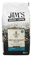 Jim's Organic Coffee - Whole Bean Coffee French Roast Decaffeinated - 12 oz., from category: Health Foods