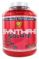 BSN - Syntha-6 100% Isolate Protein Matrix Chocolate Milkshake - 4.01 lbs.