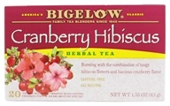 Bigelow Tea - Herb Tea Cranberry Hibiscus - 20 Tea Bags