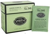 Steven Smith Teamaker - Full Leaf Green Tea Jasmine Silver Tip No. 96 - 15 Tea Bags by Steven Smith Teamaker