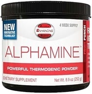 PES: Physique Enhancing Science - Alphamine Powerful Thermogenic Powder Fruit Punch - 4-Week Supply - 8.9 oz. - $35.99