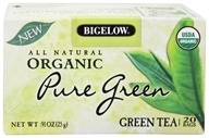 Image of Bigelow Tea - All Natural Organic Green Tea Pure Green - 20 Tea Bags