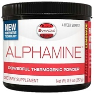 PES: Physique Enhancing Science - Alphamine Powerful Thermogenic Powder Raspberry Lemonade - 4-Week Supply - 8.9 oz. - $35.99