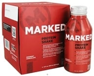 Image of Marked Nutrition - Whey Protein Shake RTD Gourmet Chocolate - 11 oz.