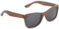 Image of Wear Panda - Monroe Handcrafted Bamboo Sunglasses Brown