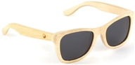 Wear Panda - Monroe Handcrafted Bamboo Sunglasses Natural (610079383821)