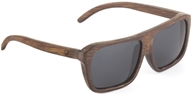 Image of Wear Panda - Nelson Handcrafted Bamboo Sunglasses Brown