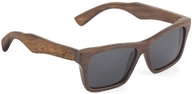 Image of Wear Panda - Kennedy Handcrafted Bamboo Sunglasses Brown
