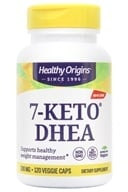 Healthy Origins - 7-Keto 100 mg. - 120 Vegetarian Capsules (603573728786)