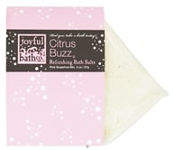 Joyful Bath Co - Bath Salts Refreshing Citrus Buzz - 2 oz. CLEARANCE PRICED by Joyful Bath Co