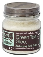 Joyful Bath Co - Bath Salts Recharging Green Tea Glee - 10 oz. CLEARANCE PRICED (736211286659)
