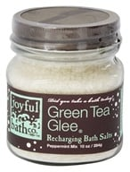 Joyful Bath Co - Bath Salts Recharging Green Tea Glee - 10 oz. CLEARANCE PRICED