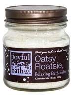 Joyful Bath Co - Bath Salts Relaxing Oatsy Floatsie - 9 oz. by Joyful Bath Co