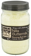 Joyful Bath Co - Bath Salts Renewing Nilla Buttermilk - 14 oz. CLEARANCE PRICED - $12.78