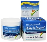 Dickinson Brands - T.N. Dickinson's Witch Hazel Cleansing Pads - 60 Pad(s)