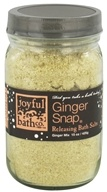 Joyful Bath Co - Bath Salts Releasing Ginger Snap - 15 oz. by Joyful Bath Co