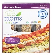 Two Moms in The Raw - Gluten Free Organic Granola Gojiberry - 8 oz. (894356001152)