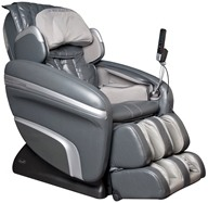 Osaki - Executive Zero Gravity S-Track Massage Chair OS-6000D Charcoal by Osaki