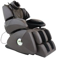Osaki - Executive Zero Gravity S-Track Massage Chair OS-7075RB Brown by Osaki